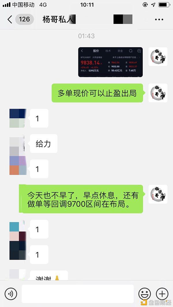 【杨哥说币】昨日现价喊单精彩回顾 最高获利700点利润 恭喜跟上的朋友抓住收益!