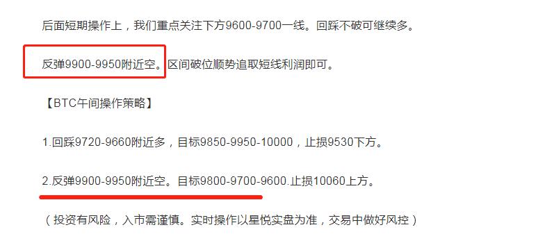 星悦论币:5.8BTC波段空再拿100+利润日内6单止盈已获600+ 跟进收割!