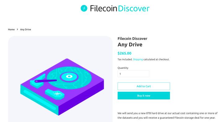 Filecoin推出官方硬盘,不让其他500家矿机商活了?