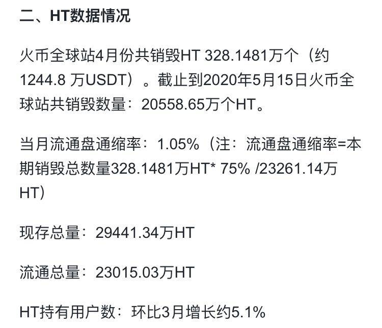 火币 4 月报以及 MASS 超越 BHD 成为最大 POC 项目 白露矿业报告(20.05.16)配图(3)