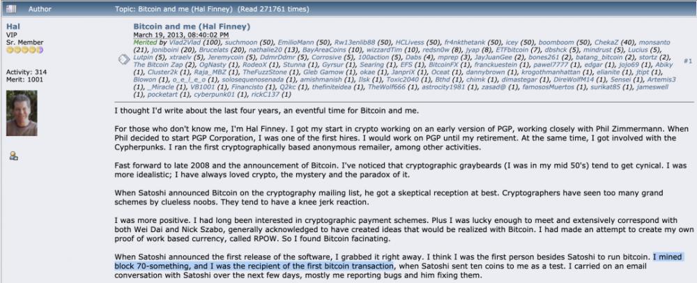 中本聪(Satoshi Nakamoto)的矿工生涯:10年未受影响的比特币编年史插图1