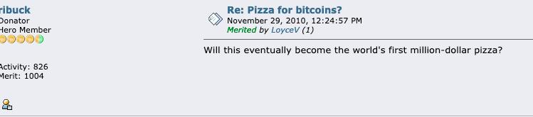 他用10000枚比特币买了两块披萨,然后呢?配图(5)