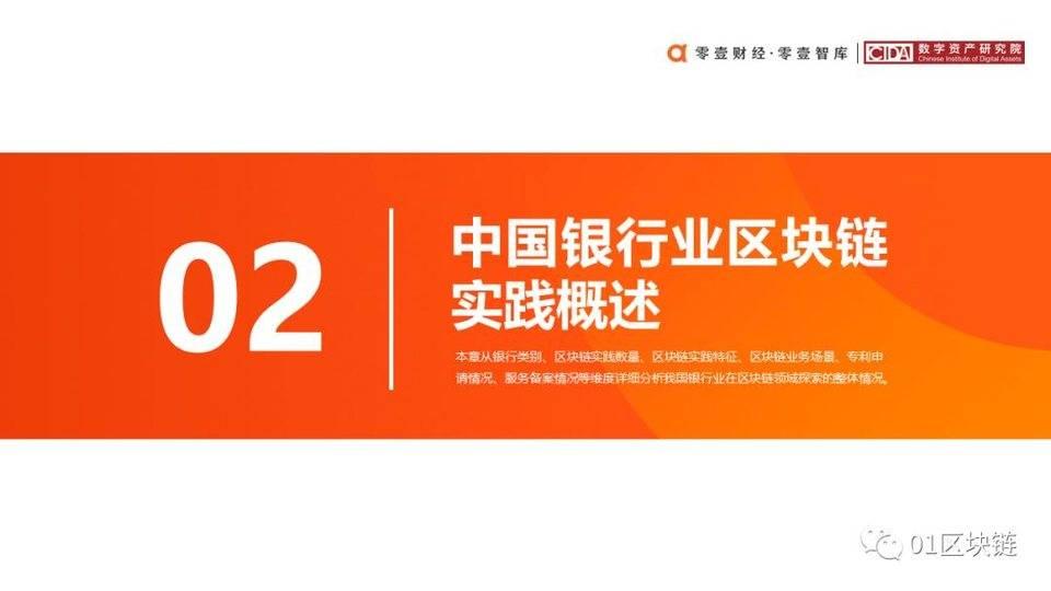 一文概览中国银行业区块链实践现状与展望