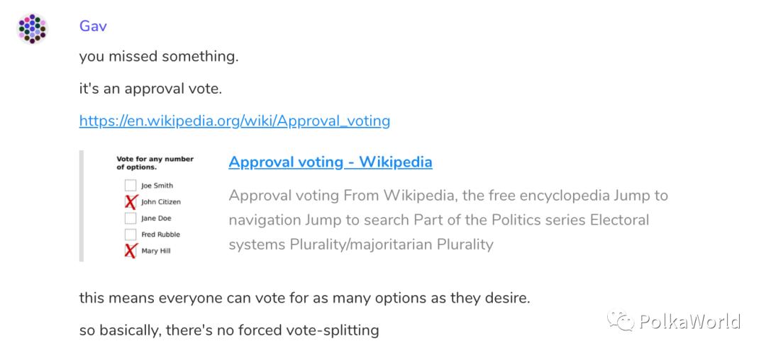 加文·伍德(Gavin Wood):Polkadot的第一次链上治理投票即将开始