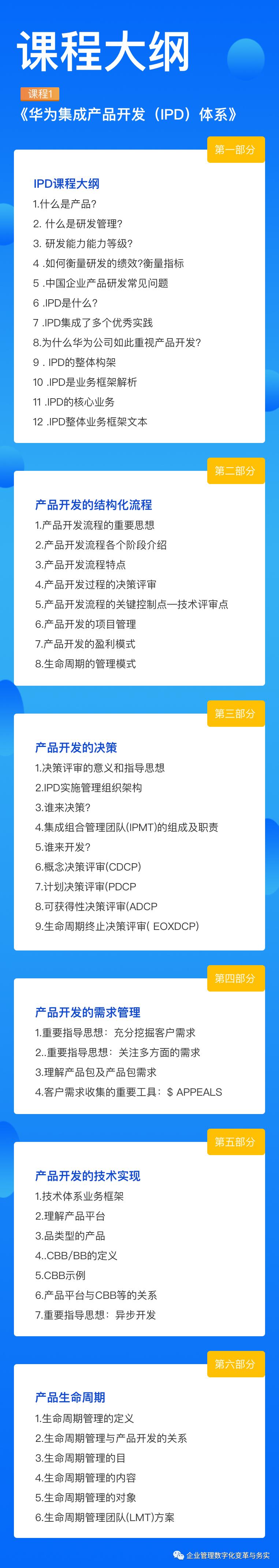 学习华为IPD/LTC/ITR三大业务流体系插图(12)