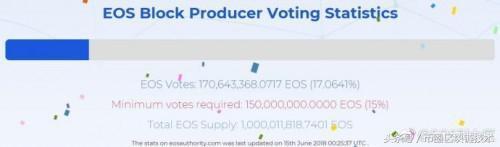首页 EOS 正文EOS主网启动 6个中国节点成功入选插图